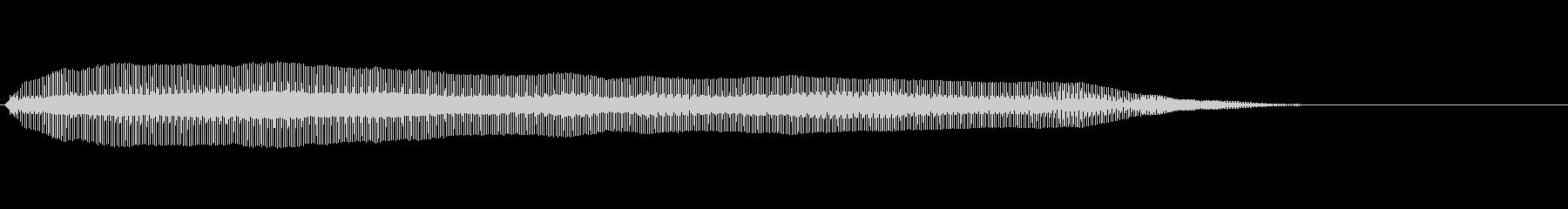 猫の鳴き声 呼びかけるの未再生の波形