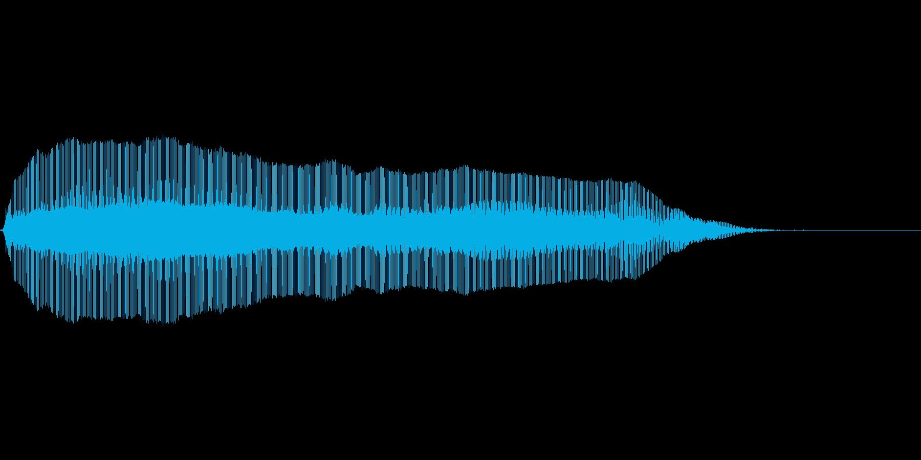 猫の鳴き声 呼びかけるの再生済みの波形