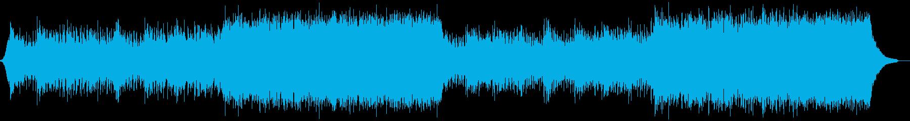 企業VP映像、109オーケストラ、壮大aの再生済みの波形