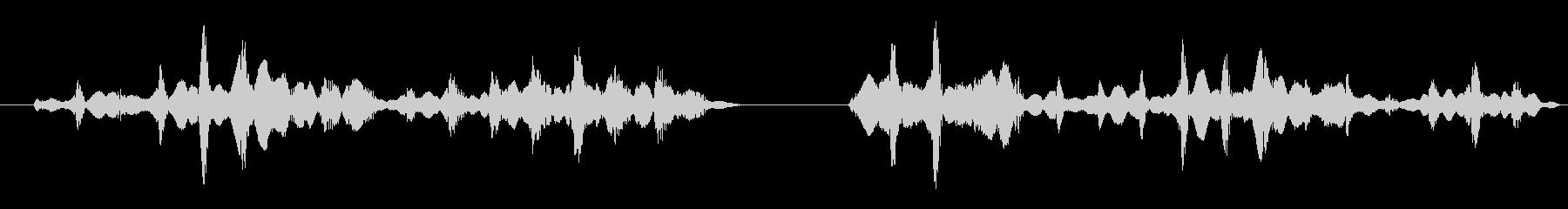 フィクション 実用性 抽象シンセ04の未再生の波形