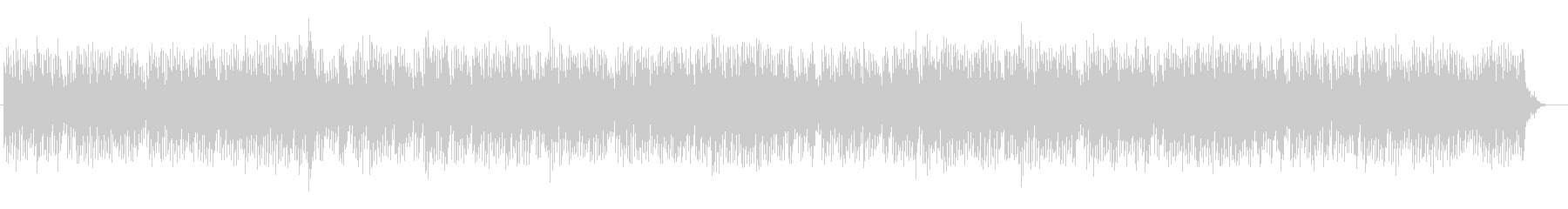 神秘的な印象のピアノ系サウンドの未再生の波形
