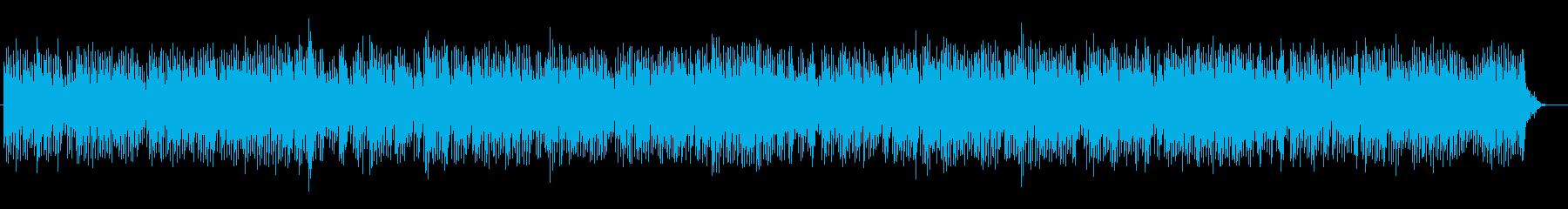 神秘的な印象のピアノ系サウンドの再生済みの波形