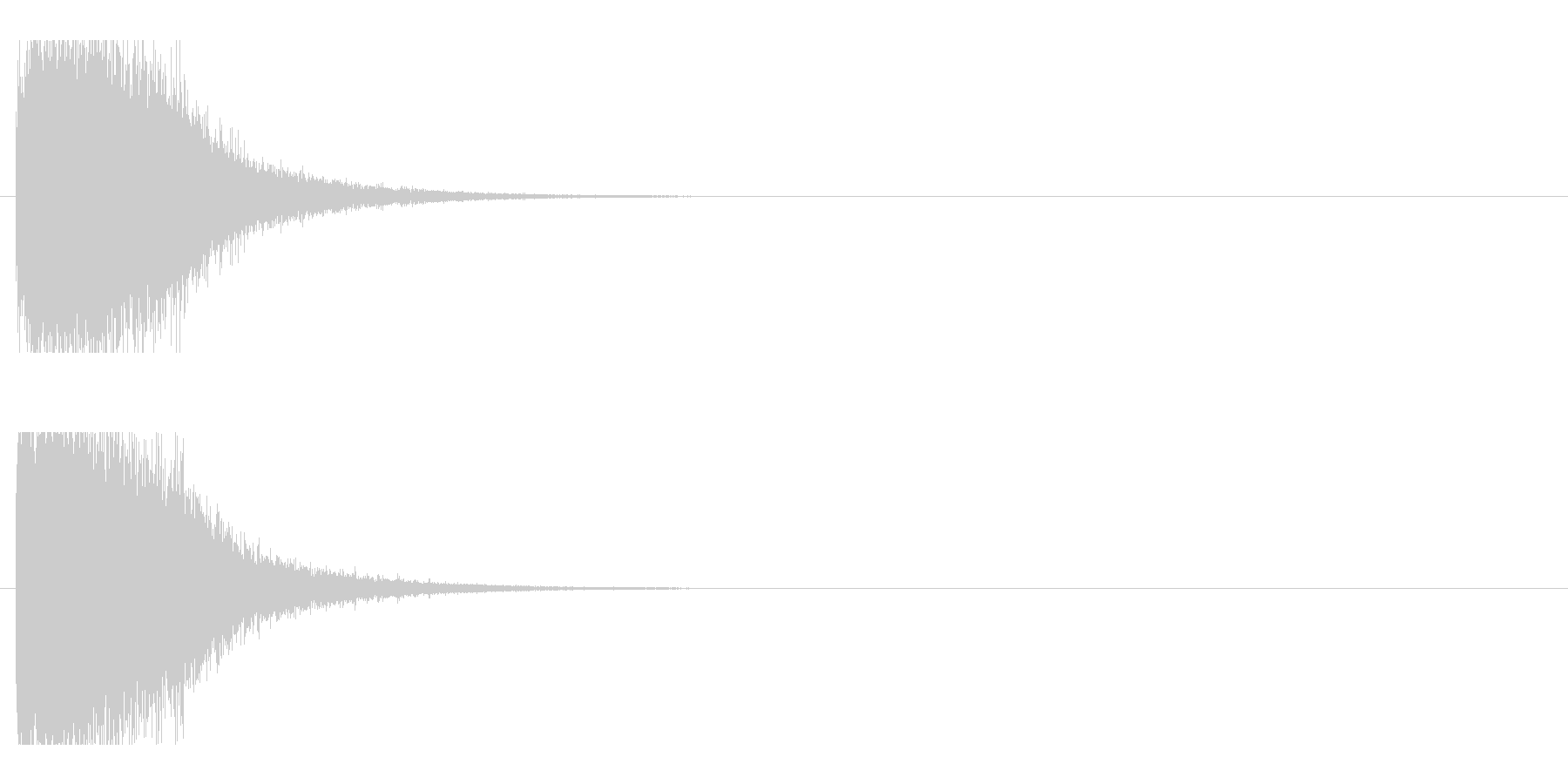 レーザー音-78-1の未再生の波形
