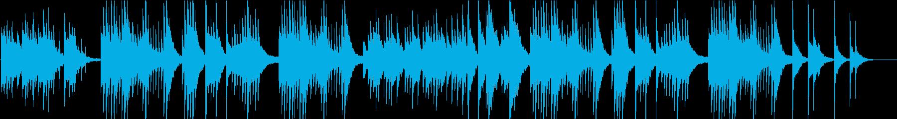リラックスする新感覚ヒーリングピアノ の再生済みの波形