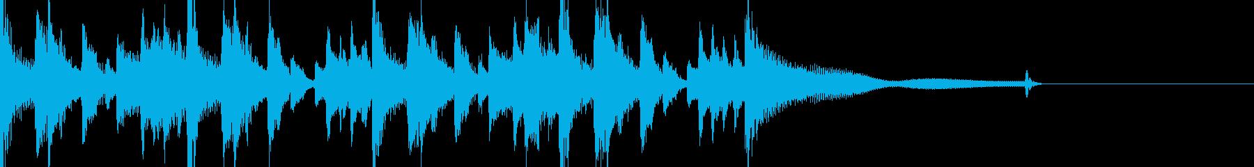 ジャズ風ジングル2 ブラスなしの再生済みの波形