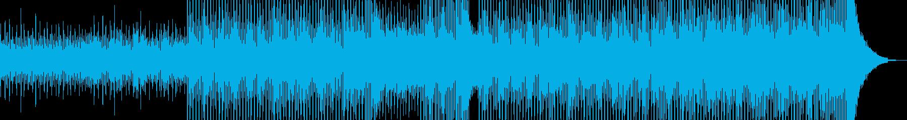 清涼感溢れるヒーリングテクノ Aの再生済みの波形
