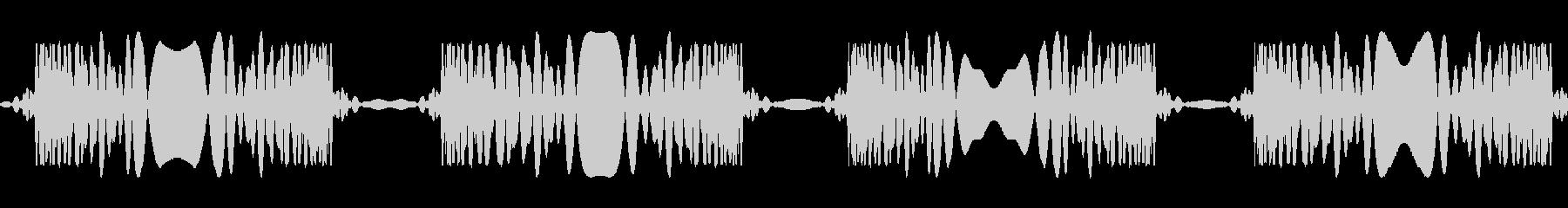 レコードスクラッチ4回:ジュクジュクの未再生の波形