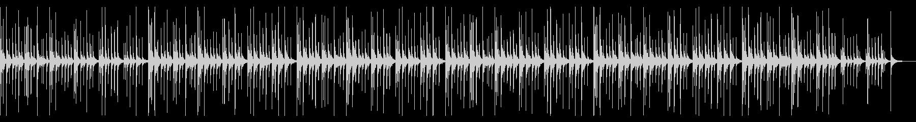ハーモニカ抜きの未再生の波形