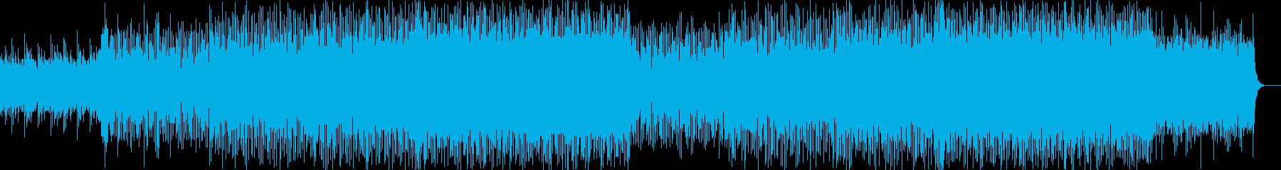 都会的で現代的な軽快なテクノ-03の再生済みの波形