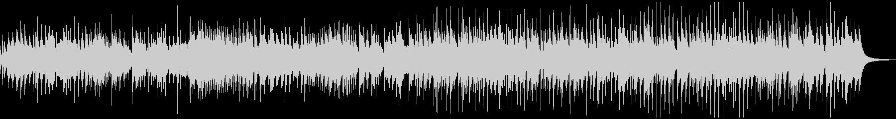 お洒落なピアノ、カントリーワルツBGMの未再生の波形