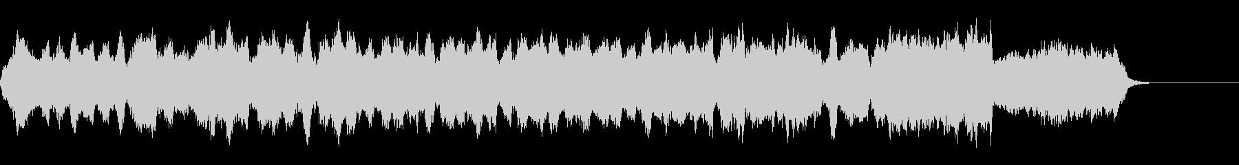 クラシック調の美しいジングルの未再生の波形