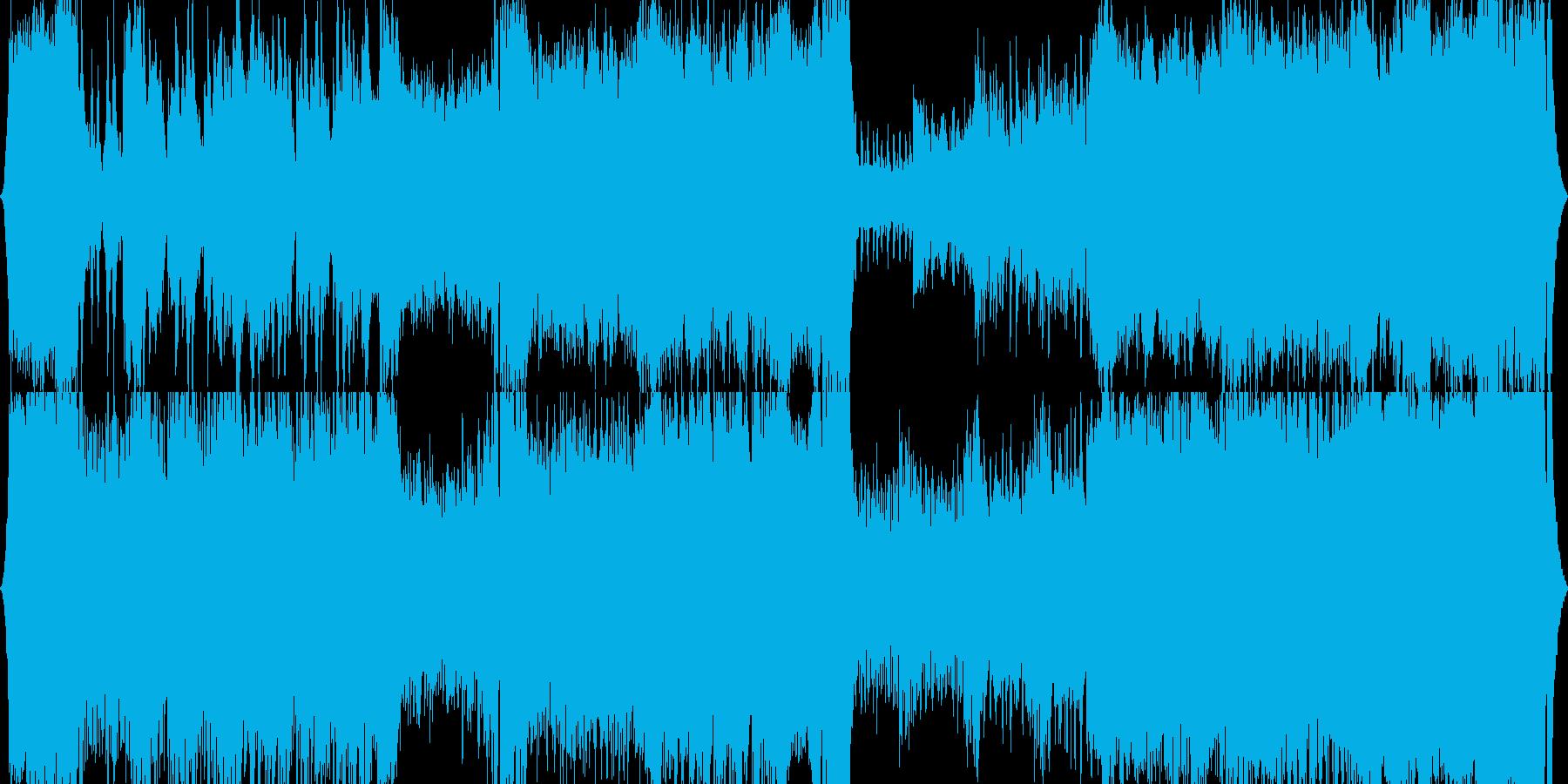 オーケストラ、テーマ曲、オープニングの再生済みの波形