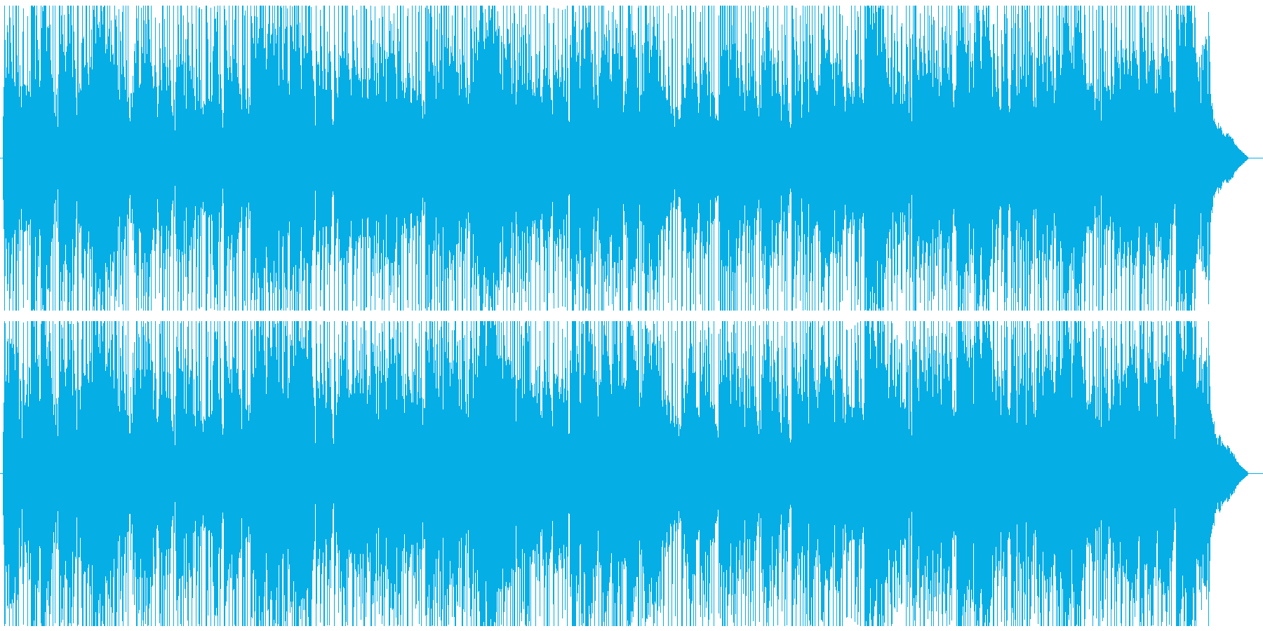 Sunday morning, positive fulfillment and warmth's reproduced waveform