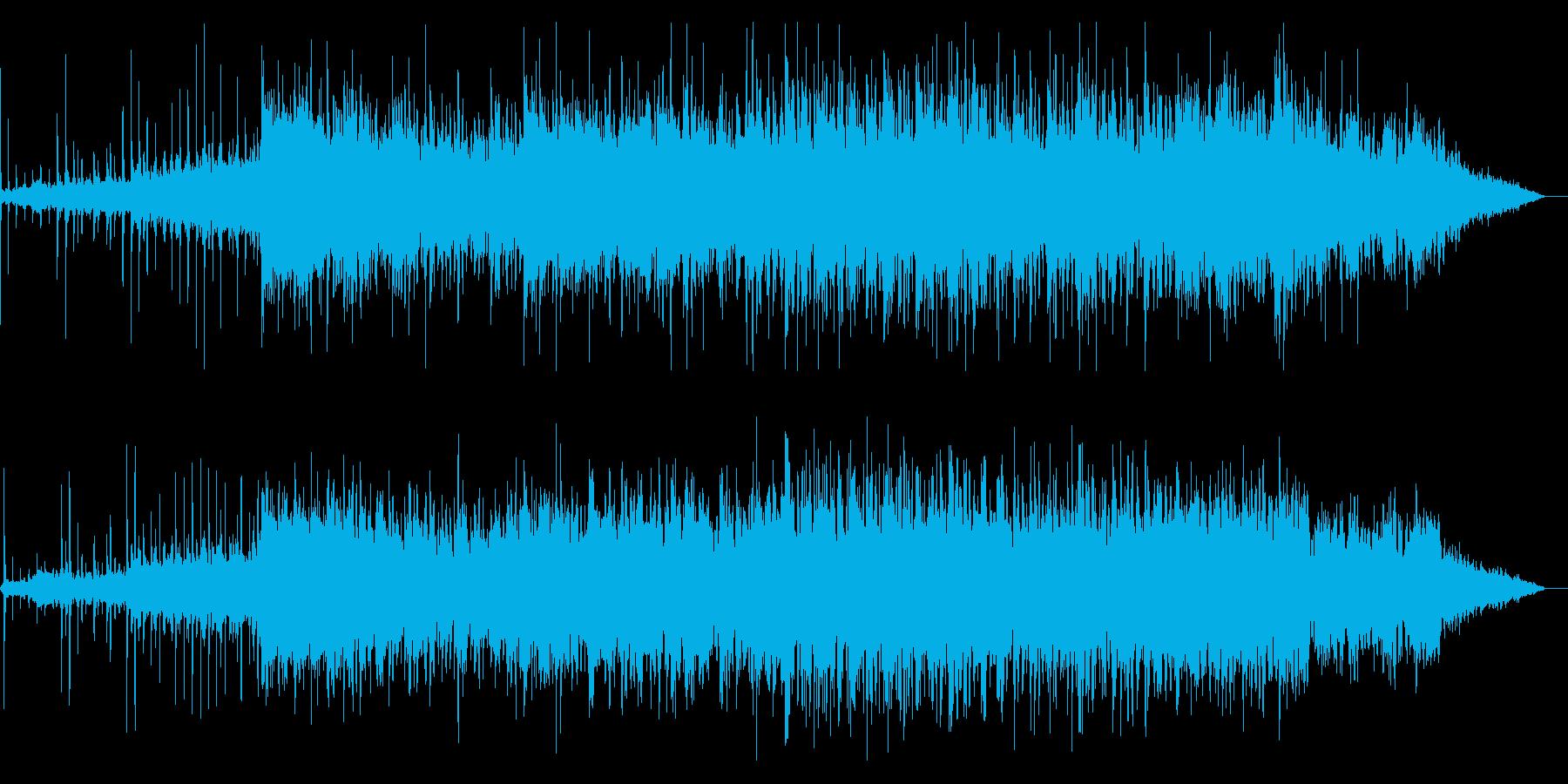 調性のない不思議なIDMの再生済みの波形