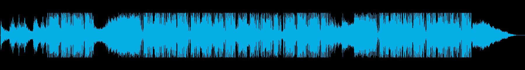 和の雰囲気が特徴的なビートの再生済みの波形