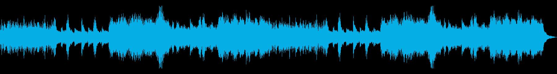 静かな緊迫/モダンな和風曲9B-ピアノ他の再生済みの波形
