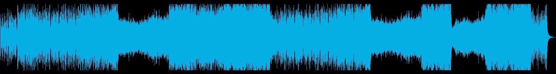 オーケストラ・壮大・感動・神秘的・幻想的の再生済みの波形