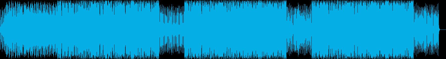 近未来 エレクトリック プロダクト紹介の再生済みの波形