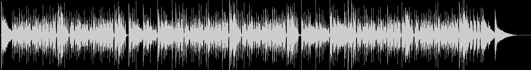 ウィンターワンダーランド アコギ生演奏の未再生の波形