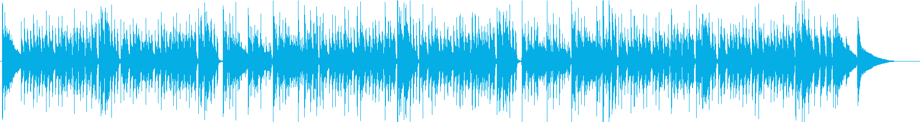 ウィンターワンダーランド アコギ生演奏の再生済みの波形