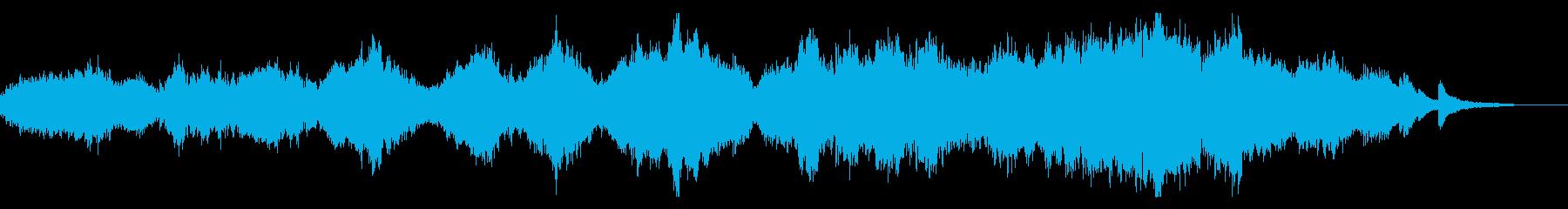 「アヴェマリア」パンの笛&ピアノ前奏無しの再生済みの波形