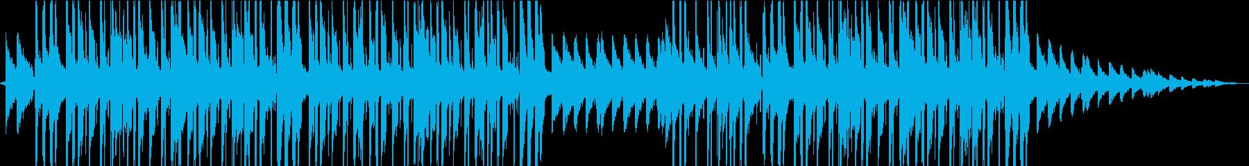 ファッションヒップホップの再生済みの波形