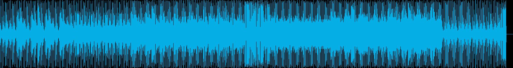 動画 技術的な 静か お洒落 ファ...の再生済みの波形