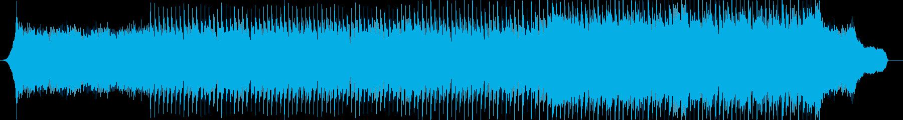 企業VP系58、爽やかピアノ、4つ打ちbの再生済みの波形