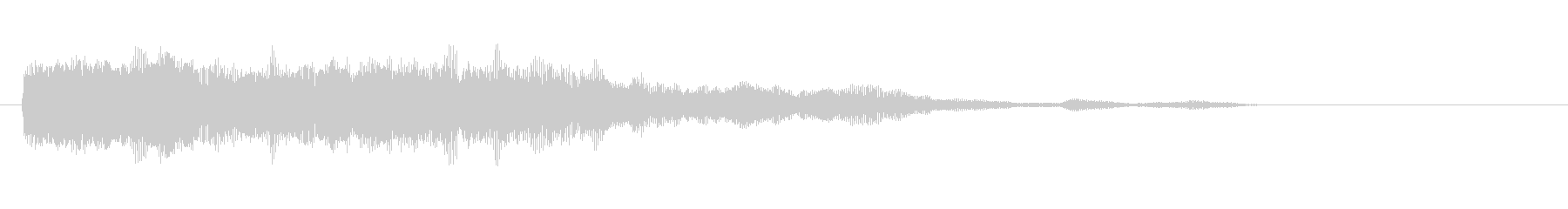 素材 シンセチャープディープ02の未再生の波形