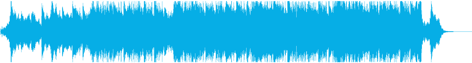 シネマティックな雄大で美しい曲 ショートの再生済みの波形