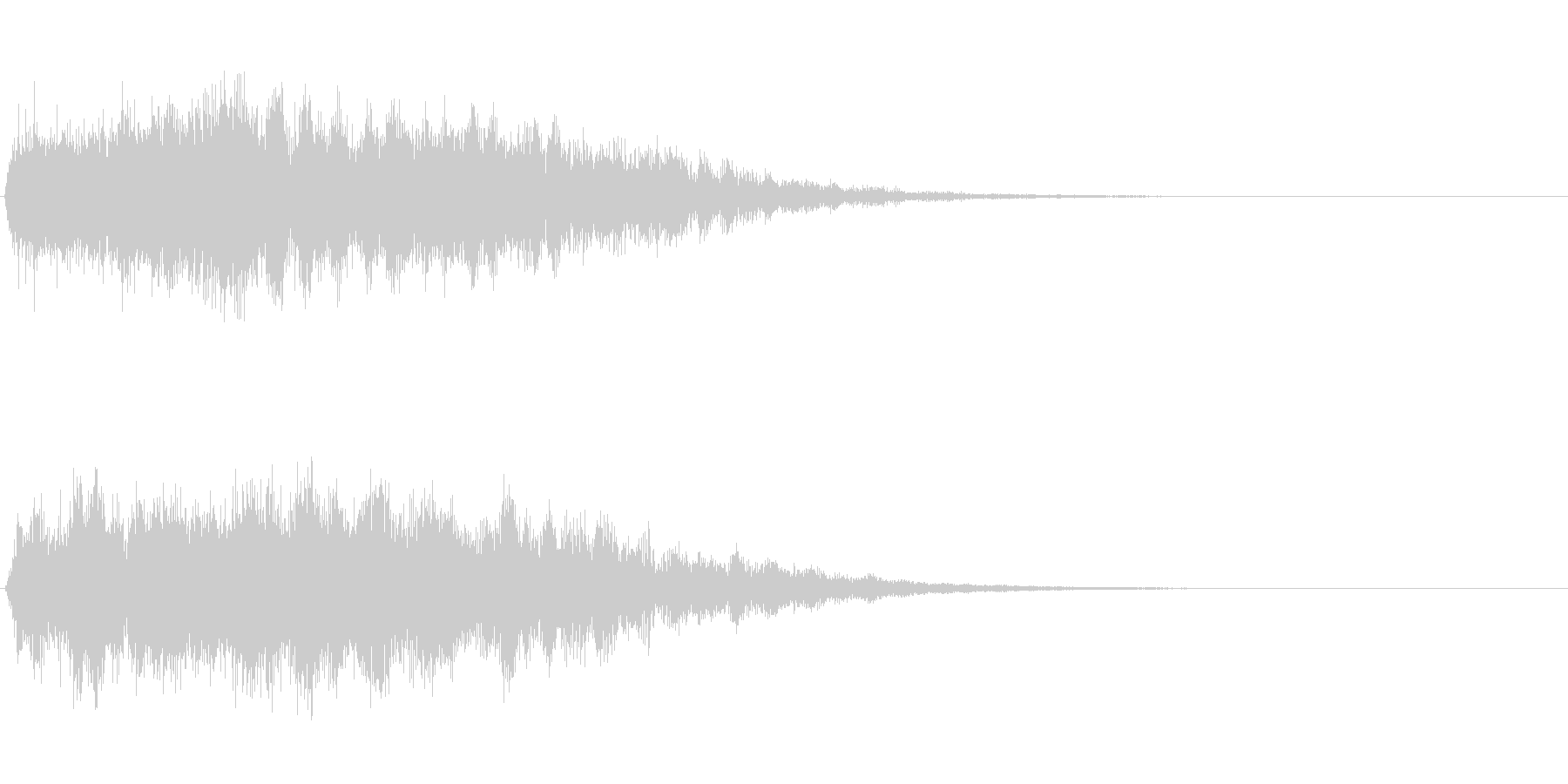 Dark_Attack-23の未再生の波形
