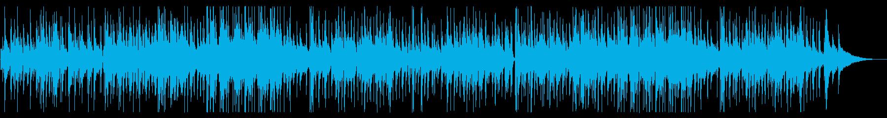 懐かしいピアノフュージョンの再生済みの波形