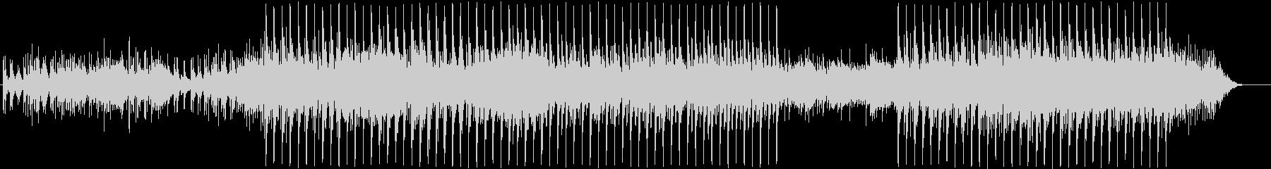 おしゃれ、ハイテクのリズム音楽の未再生の波形