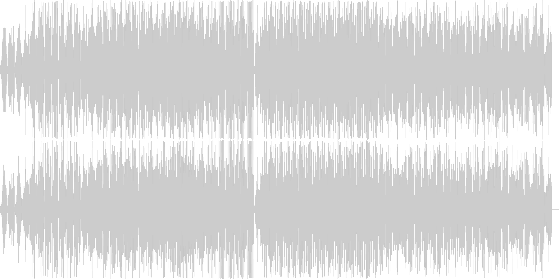 House music with a mysterious atmosphere's unreproduced waveform