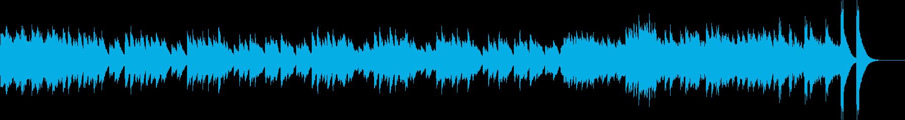 キラキラした幻想的なオルゴールオリジナルの再生済みの波形