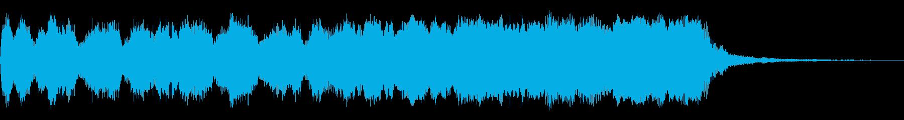 ハリウッド「15秒・壮大」オーケストラaの再生済みの波形