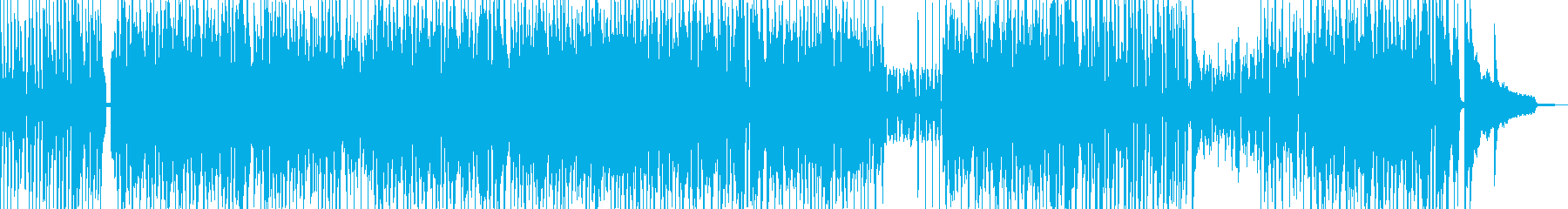 Cartoon-style piano jazz + percussion instrument's reproduced waveform
