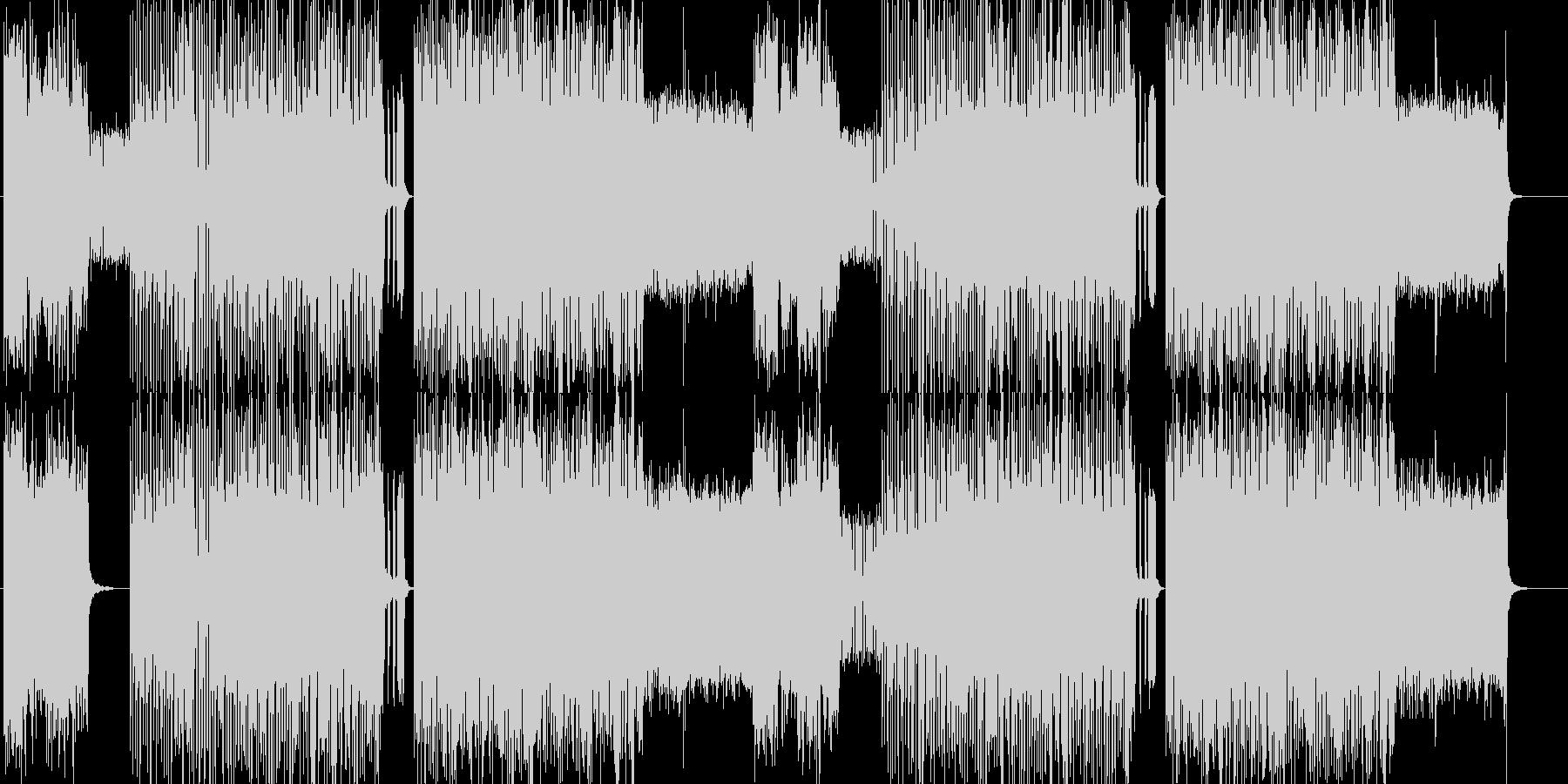 「DARK/METAL」BGM254の未再生の波形