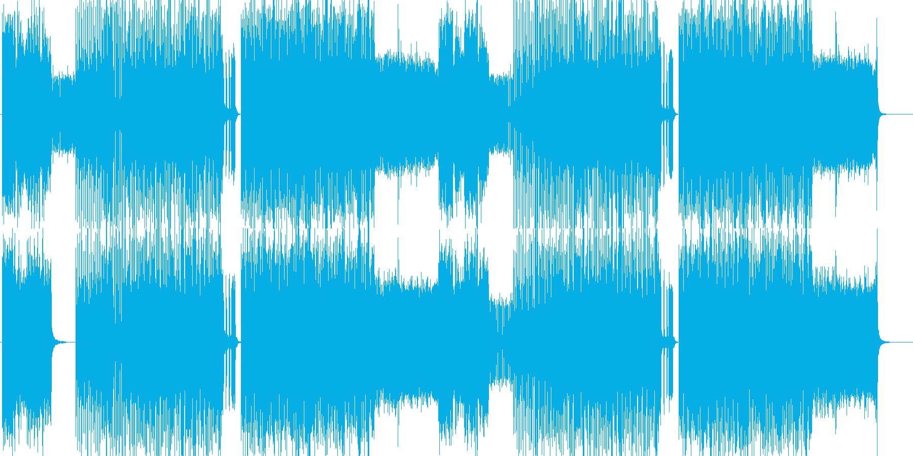 「DARK/METAL」BGM254の再生済みの波形