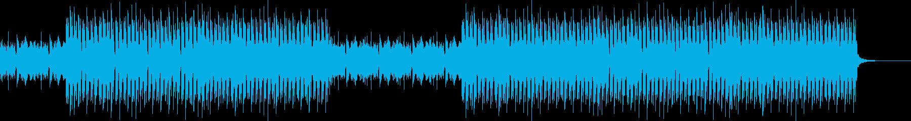おしゃれ・ジャズ・EDM・空気感の再生済みの波形