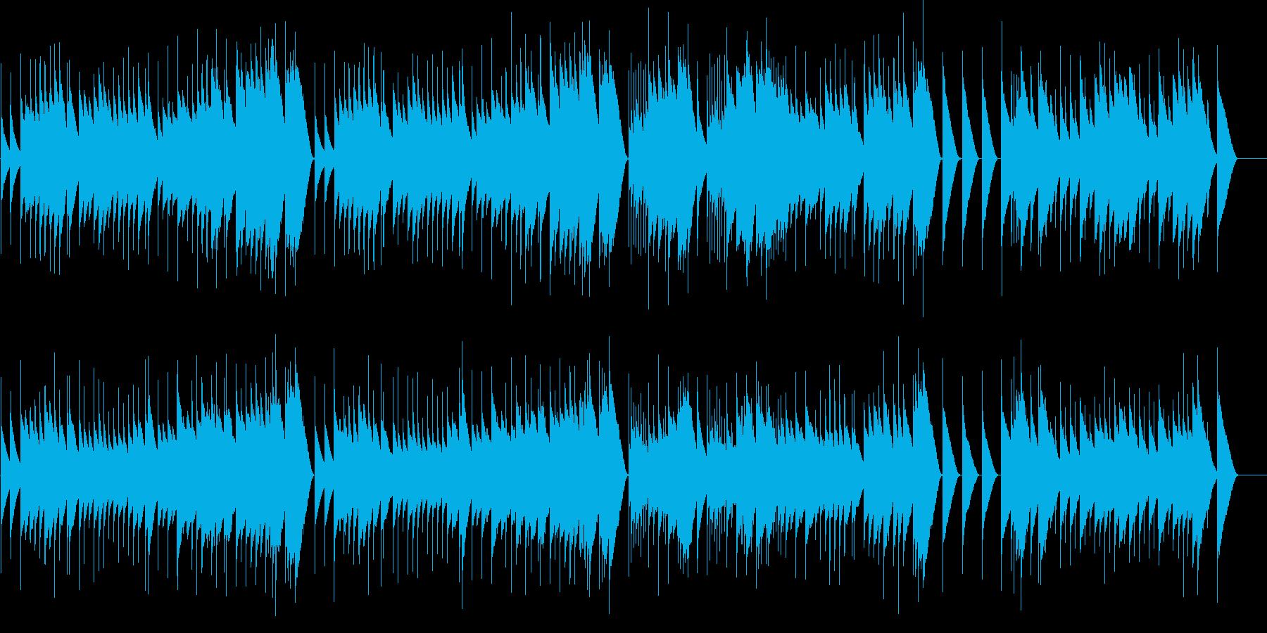 アイネクライネ 第2楽章 (オルゴール)の再生済みの波形