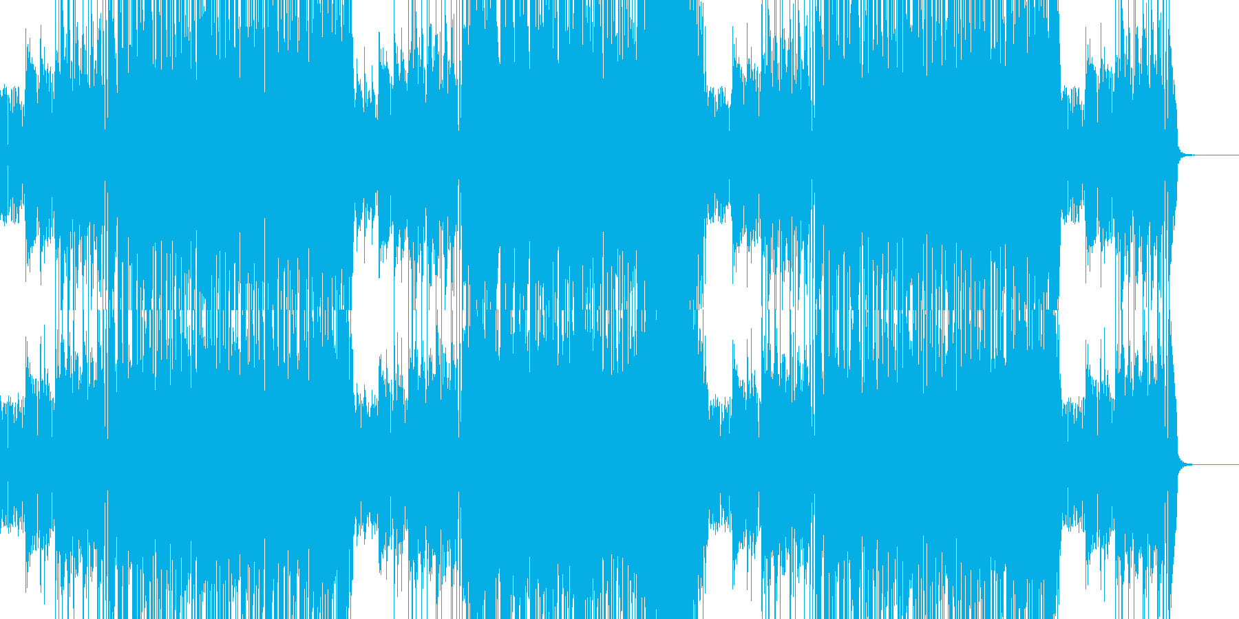 エレキGt生録(Smooth Jazz)の再生済みの波形