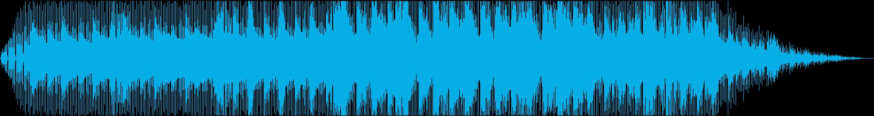 スタート前の回想シーン(ピアノ、ギター)の再生済みの波形