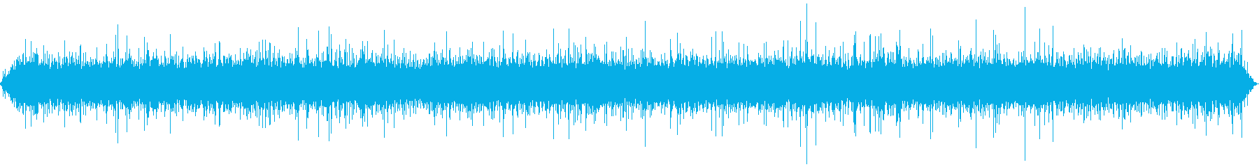 Natural sound of the river's reproduced waveform