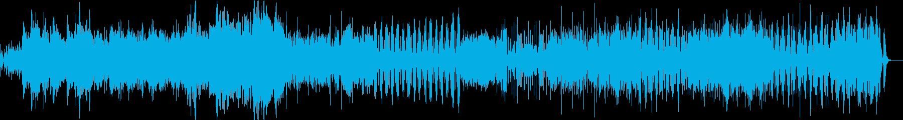 南国バカンスの陽気なオーケストラの再生済みの波形