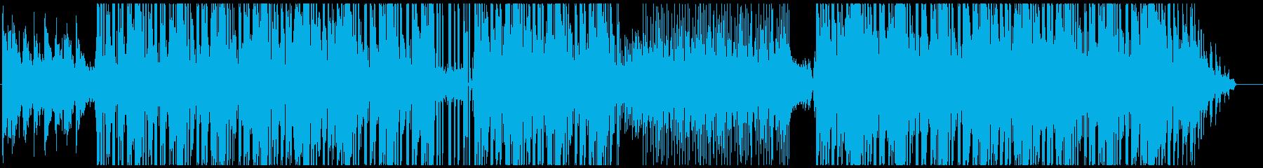 少し暗い雰囲気のHiphopの再生済みの波形