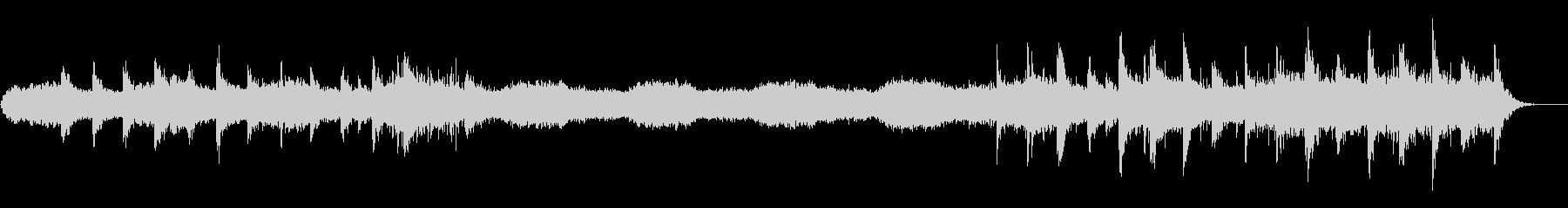b Flなし企業PV向け静謐で神秘的な曲の未再生の波形