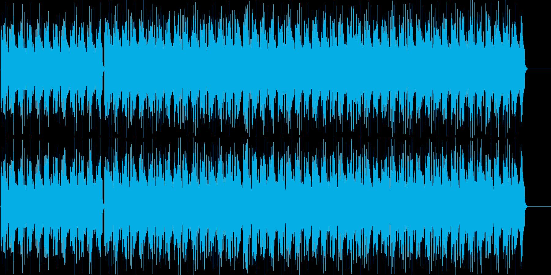 エレクトリックでほのぼのしたBGM!?の再生済みの波形
