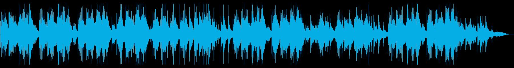 琴/ピアノ/情緒溢れる癒しの和風曲の再生済みの波形