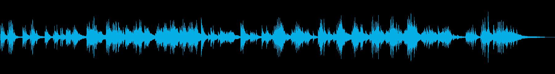ノスタルジックで切ない ピアノソロの再生済みの波形
